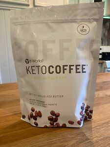 Brand New It Works New And Improved Keto Coffee 15 Packets