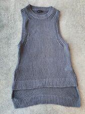 Topshop Sleeveless Knitted Jumper. Size 10.