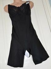 ODDS - Gorgeous body controlling open crotch soft playsuit panties, 42C, cd too