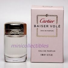 Cartier BAISER VOLE Eau de Parfum 6 ml Mini Perfume Miniature Bottle New in Box