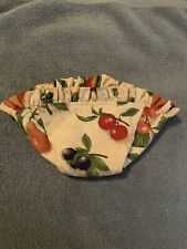 Longaberger Small Comforts Basket Fruit Medley Fabric Liner