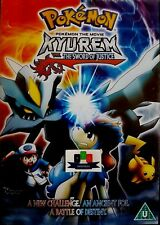 Pokemon The Movie - Kyurem vs The Sword Of Justice DVD 2013 New And Sealed