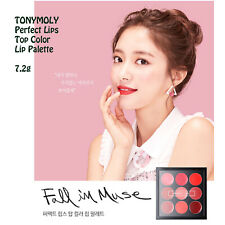 Tonymoly Perfect lips top color lip palette 7.2g Mix Match 9 Color K-Beauty Kore