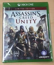 Assassin's Creed Unity Limited Edition Xbox One Brand New Factory Sealed