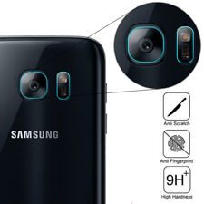 For Samsung Galaxy S7 S7 Edge Back Camera Lens + Flash Tempered Glass Protector