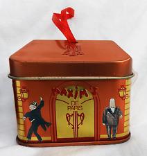 Maxim's De Paris House Shape Chocolate - Hanging Tin Box / Gift Box / Decoration