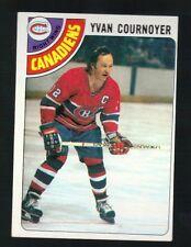 1977 - 1978 Topps Hockey Set YVAN COURNOYER Card