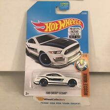 Ford Shelby GT350R #213 * WHITE * 2017 Hot Wheels FACTORY SET Edition