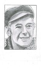 Portrait original au crayon de Félix LECLERC