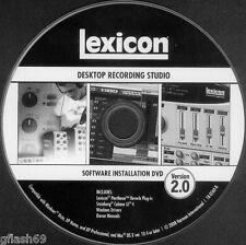 Cubase 4 Le Desktop Recording Studio Includes * Lexicon Pantheon Reverb Plugins