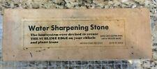 Vintage Sharpening Stone Japanese Suehiro 6000 grit polishing splash n go hone