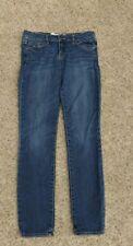 """Abercrombie Girl's Size 25 X 29 Blue Jeans """"Brett"""" Style Pockets Great Shape"""
