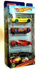 Hot Wheels '13 Speedster 4Pk Die-Cast Car Set Camaro, Corvette, Zotic, Monoposto