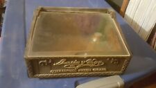 Garcia Y Vega Cigar Display Case Box Advertising Piece Vintage