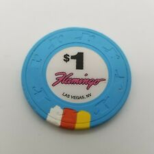 Flamingo  Casino Las Vegas Nevada  $1 Casino   Chip