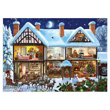 Christmas House 5D Diamond Painting Kits DIY Painting Full Drill For Home Decor