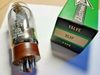 Mullard EL37 Tube/Valve, RARE Brown base. New.