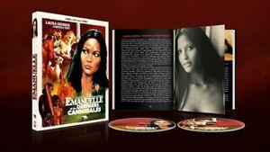 EMANUELLE E GLI ULTIMI CANNIBALI💀AUDIO ITA BOX BLU RAY+DVD+FOTOLIBRO 64 PAGINE!