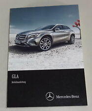 Instrucciones Servicio Mercedes-Benz Gla X156 Stand 2014