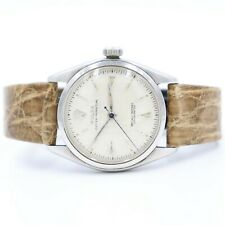 circa 1953 Rolex Bubble Back Oyster Perpetual 34mm Men's Watch Ref. 6084
