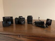 Canon EOS M50 24.1MP Mirrorless Camera with 15-45mm + 30mm and extras!