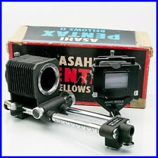 ASAHI PENTAX BELLOWS II M42 Screw mount vintage macro lens slide copier copy