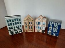 The Cat's Meow collector's village 4 Painted Ladies series 1988
