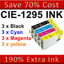 12 XL Ink Cartridges for Epson Office SX230 SX235W SX435W SX440W SX445W SX535WD