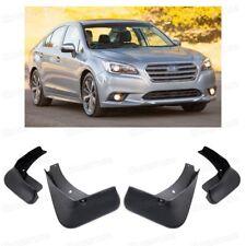 4Pcs Car Mud Flaps Splash Guard Mudguard Fender for 2015-2017 16 Subaru Liberty