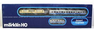H0 Märklin 2856 Zugpackung Airport Express mit türkis/beiger 111 OVP