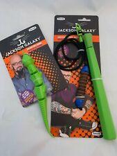 Jackson Galaxy Ground Prey Wand for Cats with Iguana attachment