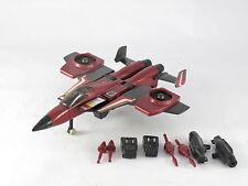 Transformers G1 empuje completa, Seeker Jet, Vintage, Buen Estado