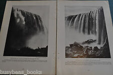 1917 magazine article about NIAGARA FALLS, home front, WWI, electric power etc