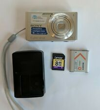 Sony Cyber-shot DSC-W610 14.1MP Digital Camera + Memory, Battery And Charger