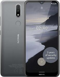 Nokia 2.4 Smartphone Dual SIM 32GB + 2GB RAM - Charcoal