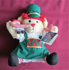 Dakin Christmas Raggedy Bear Holding Ann Doll - New with Tags (From Old Stock)