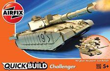 Airfix J6010 QUICK BUILD BRITISH MBT CHALLENGER BNIB: FREE UK POST
