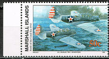 Marshall Isl WW2 Battle of Coral Sea in 1942 Douglas MNH stamp