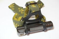 Manta Ray H6 90 degree angle flashlight with head strap