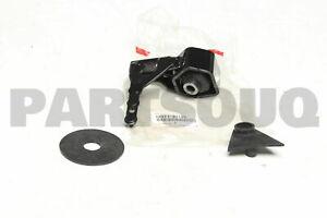 1237120110 Genuine Toyota INSULATOR, ENGINE MOUNTING, REAR 12371-20110