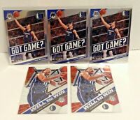 Luka Doncic 2019-20 Panini Mosaic Got Game/Will To Win (5) Card Lot 2nd Year! 🔥
