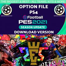 PES 2021 PS4 100% COMPLETE OPTION FILE DOWNLOAD VERSION + LEGENDS! INS DISPATCH!
