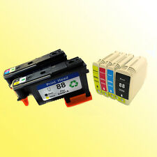 for hp88 For 88 Printhead Print head plus 88xl ink cartridges Pro K8600 8600