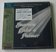 EMERSON LAKE & PALMER-WELCOME BACK Japon SHM MINI LP 2cd OBI NOUVEAU! VICP - 64567-8