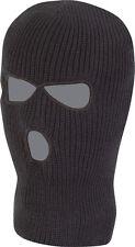 Nouvelle qualité noir balaclava sas style 3 trous masque de ski