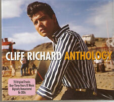 Cliff Richard - Anthology [Best Of / Greatest Hits] 3CD NEW/SEALED