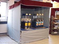 NEU 2 x 2 m Verkaufsstand Slush Eis Stand Popkorn Stand Flohmarktstand !!!