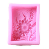 3D Silicone Fondant Mold Cake Decorating DIY Chocolate Sugar Soap Baking Mould