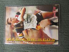 Western Reds NRL Cards 1996 Series 1