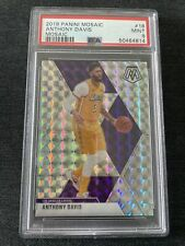 2019 Anthony Davis Panini Mosaic PSA 9 Mint Lakers